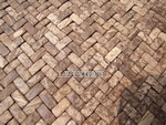 Coconut Shell Mosaic