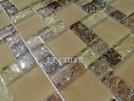 Crysta Glass Mosaic - Crackle Mosaic