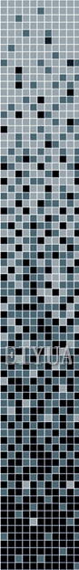 Crysta Glass Mosaic - Gradual Change Mosaic